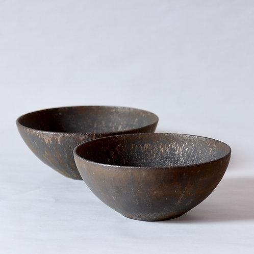 large bowl - gold lustre