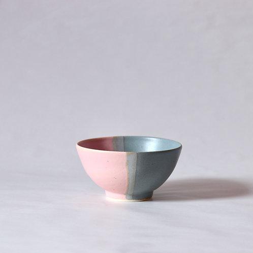 bowl - pink x blue grey