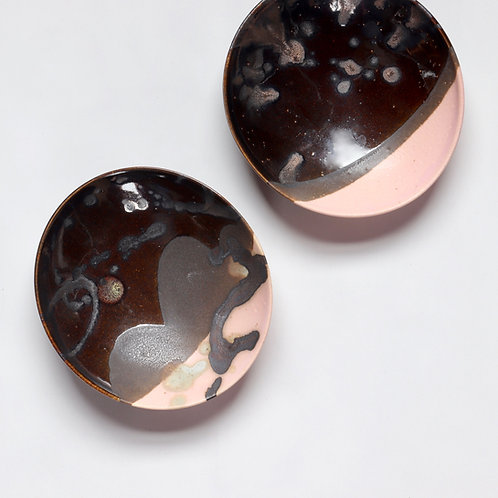 small bowl - Chocolate x Pink