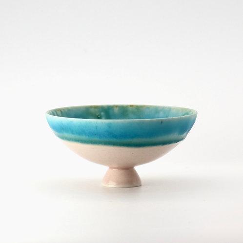 tiptoe bowl - pink&blue