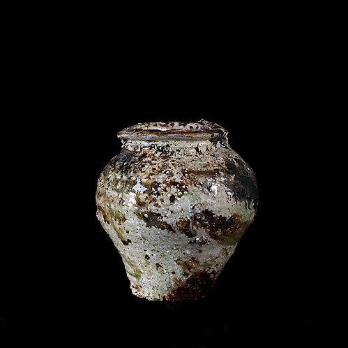 ash glazed vase