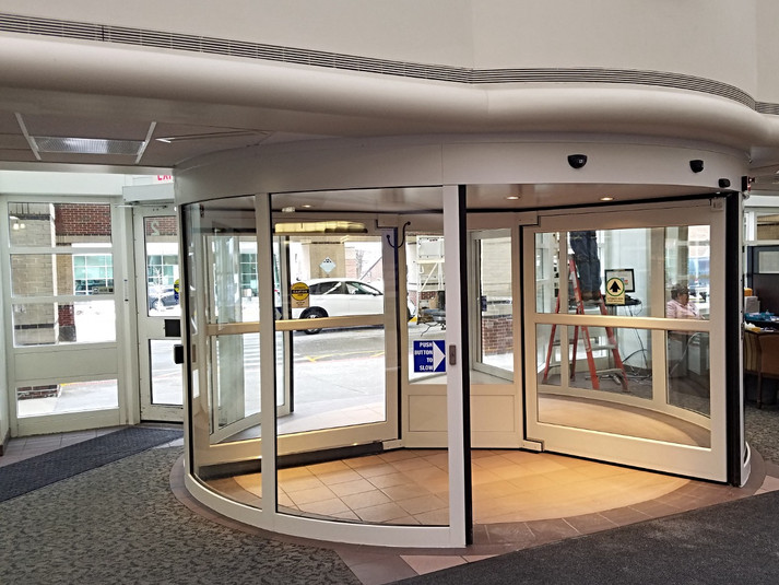 ABMC Revolving Automatic Door