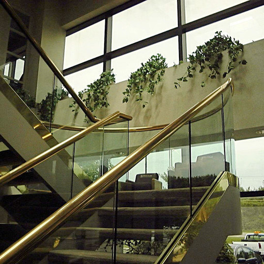 Lincoln Office Handrail