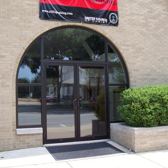 Morton Arch Church Entrance