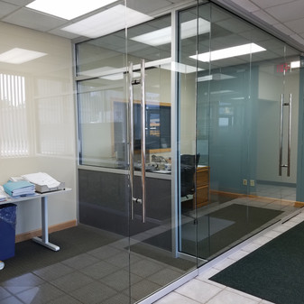 KGI Main Office Partitions