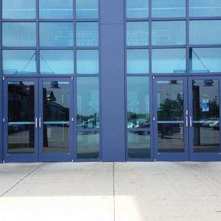 Blue Curtainwall System