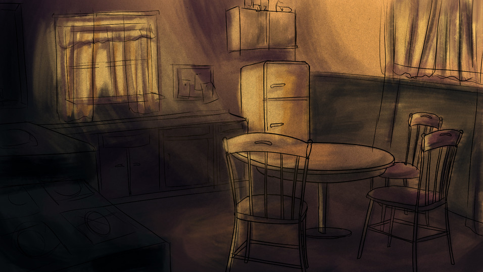 Kitchen Mood Painting