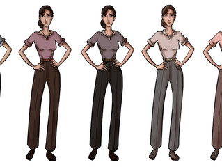 Anne Character Design