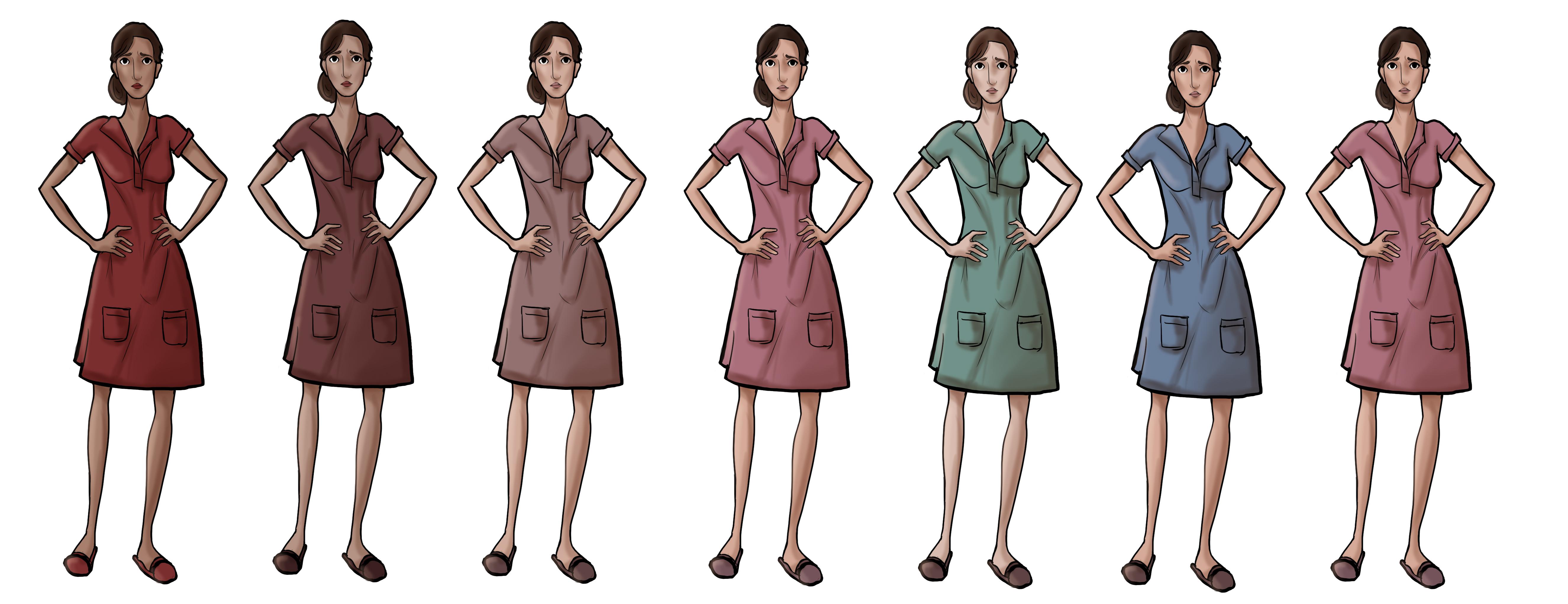 Anne: Dress Colors