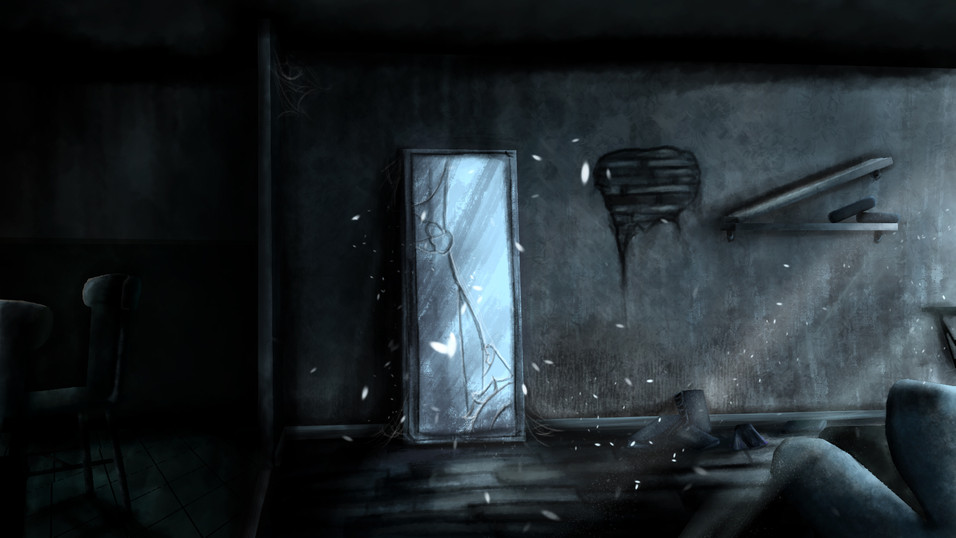 Mirror Concept Painting