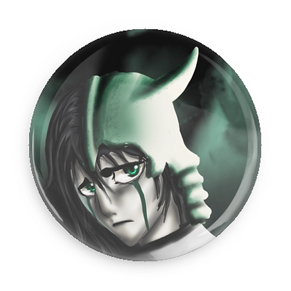 Button: Ulquiorra (37 & 56 mm)