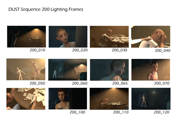 DUST Sequence 200 Lighting