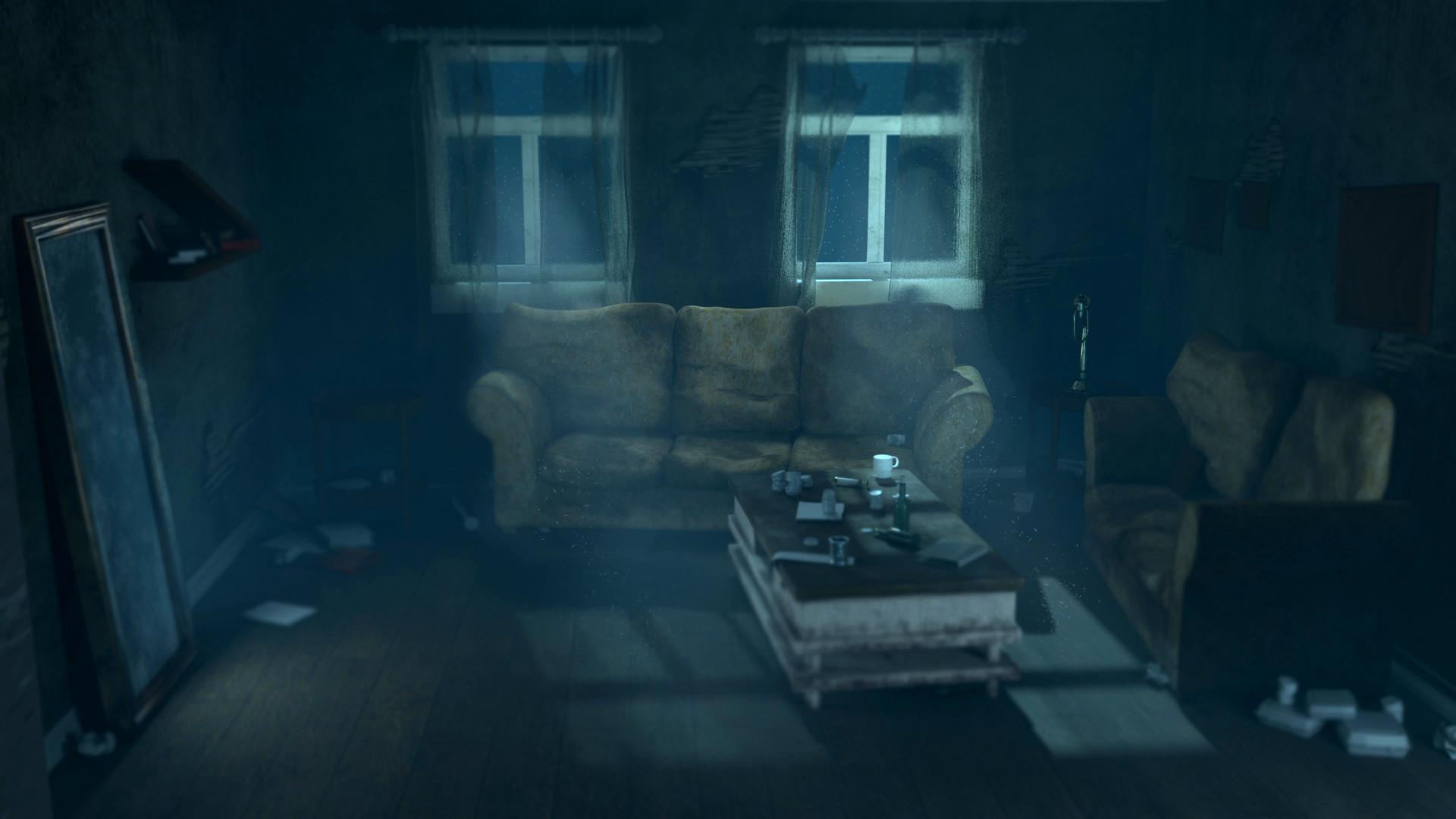Dust Living Room