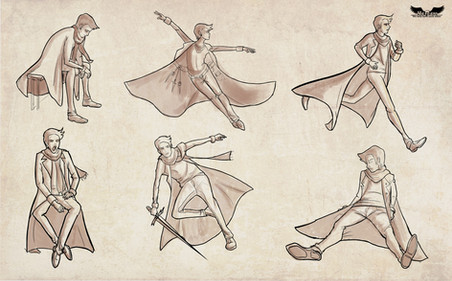 Danny Action Poses
