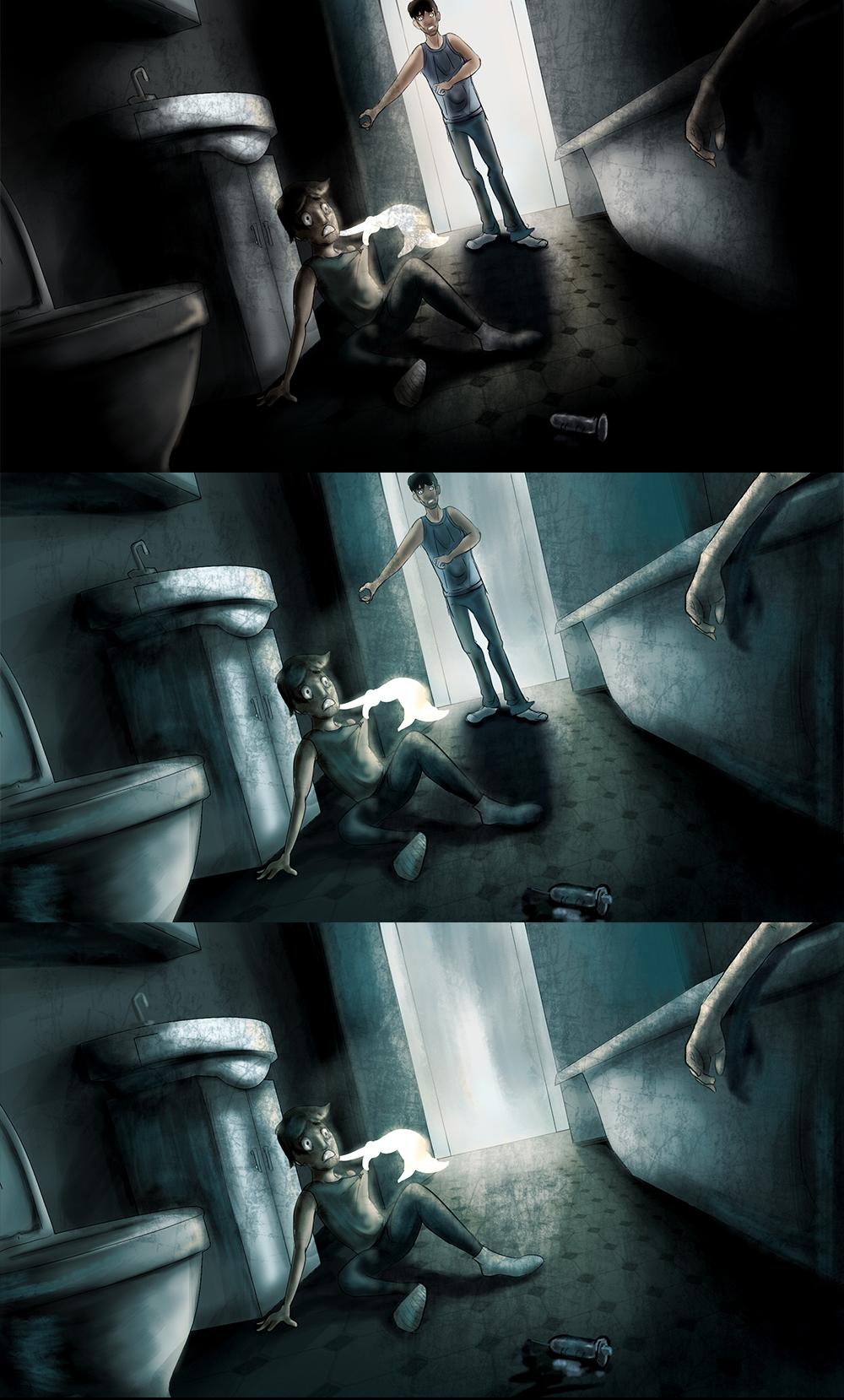 ColorKey: Bathroom Memory