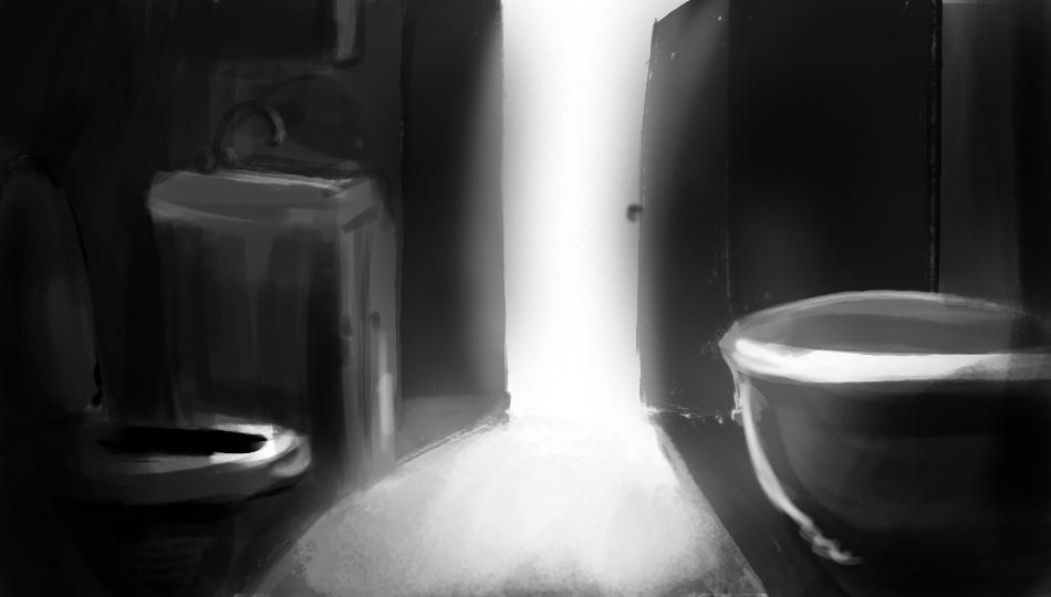 Bathroom Light Study 2