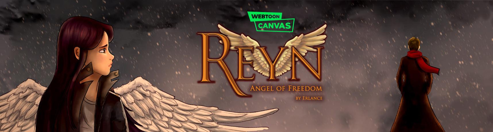 Reyn Angel of Freedom Webtoon Canvas