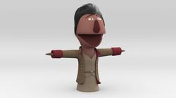 Gaston Muppet