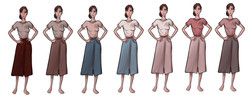 Anne: Skirt Colors