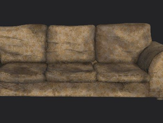 Couch Model and Texture