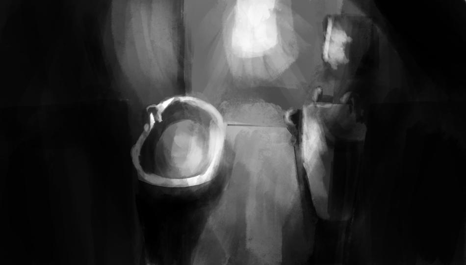 Bathroom Light Study 1