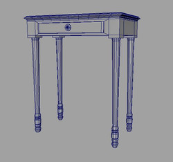 Entrance Table: Wireframe