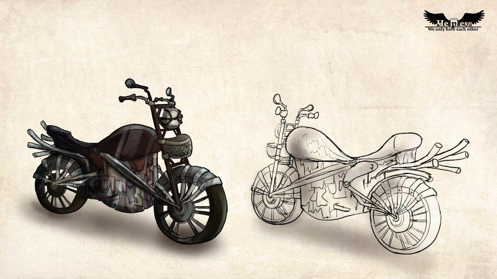 Patchwork Bike