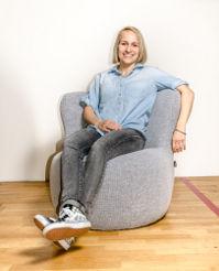 Sportpsychologin Katharina Hartmann