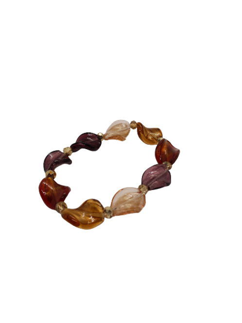 Available from 13th July, autumn bracelet, autumnal beaded bracelet