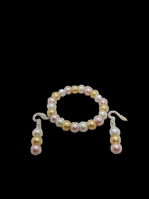 Bridal jewellery/bride/pastel jewellery/bridesmaid/Spring
