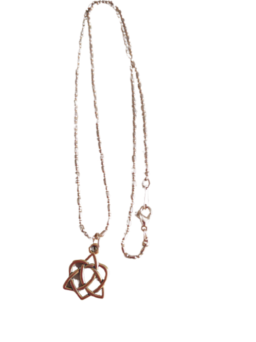 Gold plated celtic knot chain/necklace