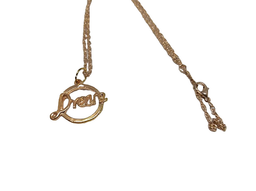 rose gold plated dream chain/necklace