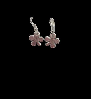 4 leaf clover earrings/shamrock earrings/St Patrick's Day/Irish drops/silver pla