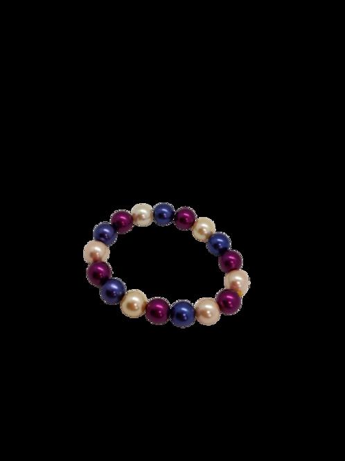 expandable bracelet, stretchy arm candy, wrist jewellery, beaded jewelry,