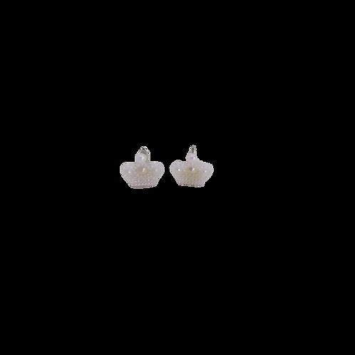 silver plated earrings/kid's jewellery, earrings for children,royal