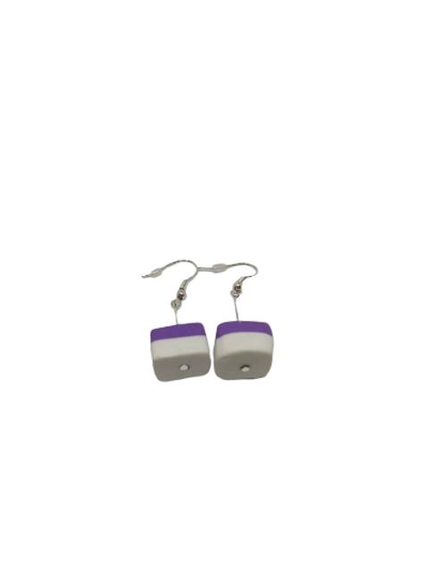 Sterling silver/silver plated sweet drop earrings