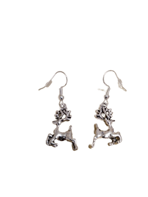 Sterling silver/silver plated Christmas earrings