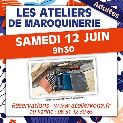 Atelier Samedi 12 Juin - 9h30