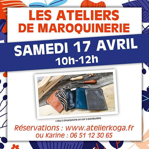 Atelier Sam. 17 Avril 10h-12h
