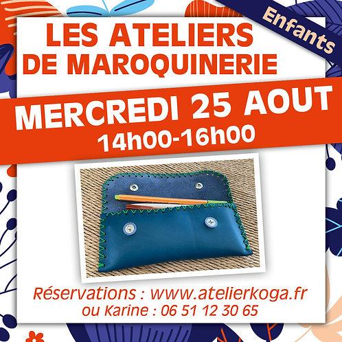 Copie de Atelier Mercredi 25 Aout - 14h-16h