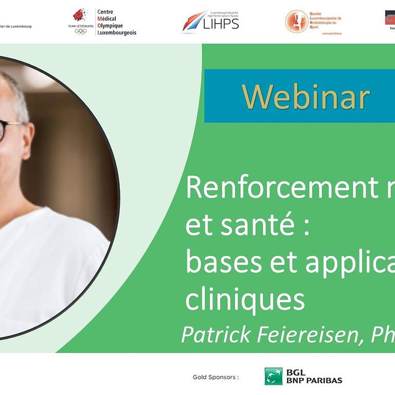 Renforcement musculaire et santé : bases et applications cliniques