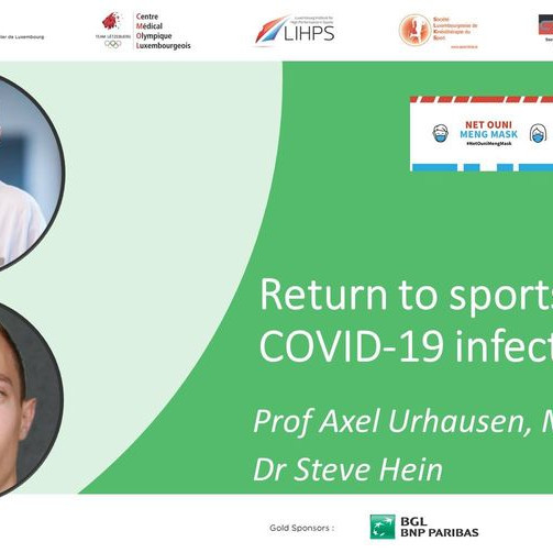 Return to sports after COVID-19 infection