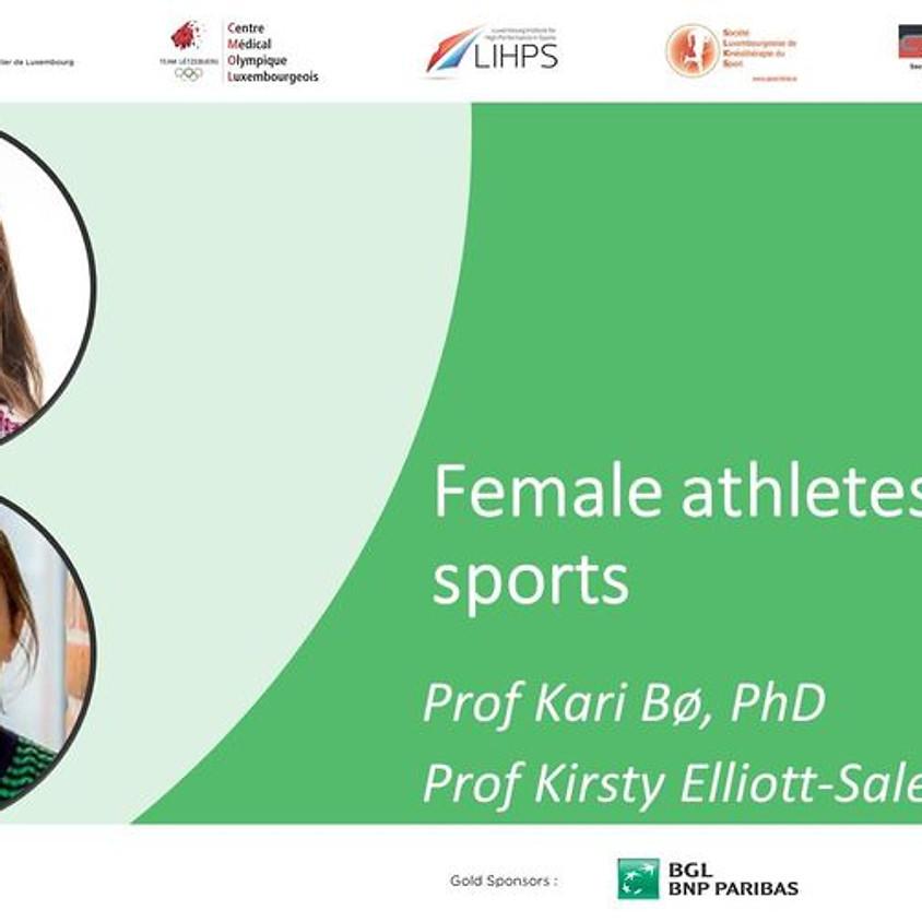 Female athletes in elite sports