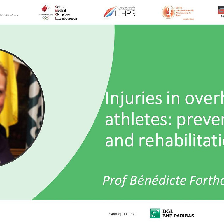 Injuries in overhead athletes: prevention and rehabilitation