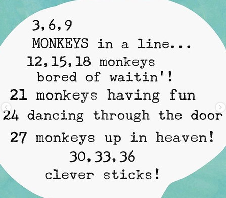 Rhymes Times Tables!