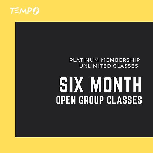 Six Month - Unlimited classes