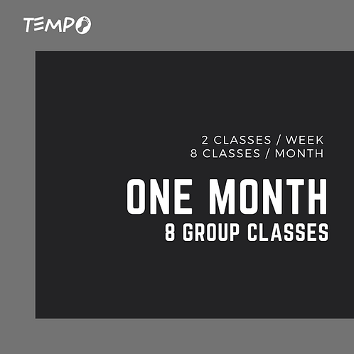 One Month - 8 Classes
