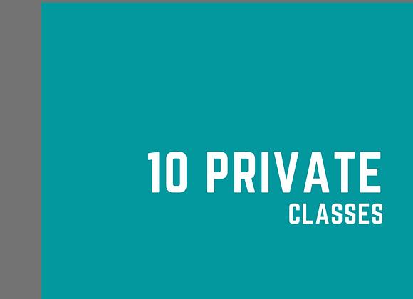 Private Class - 10 PT
