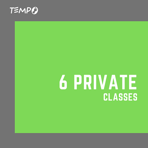 Private Class - 6 PT