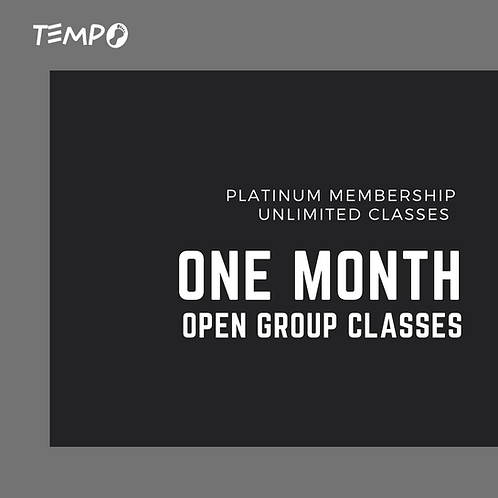 One Month - Unlimited Classes